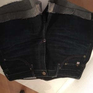 AG  dark denim shorts sz 26R